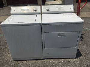 Whirlpool washer and dryer set we deliver and install 2 months warranty for Sale in Whittier, CA