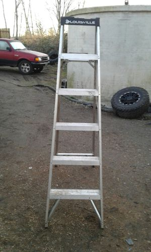 Louisville 6' aluminum ladder for Sale in Portland, OR
