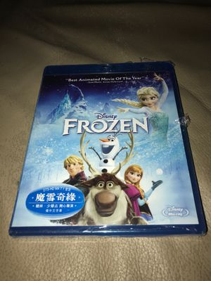 Frozen Blu-ray new Chinese subtitles for Sale in Corona, CA