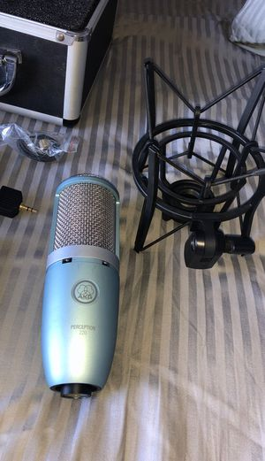 AKG perception 220 microphone for Sale in Spring Valley, CA