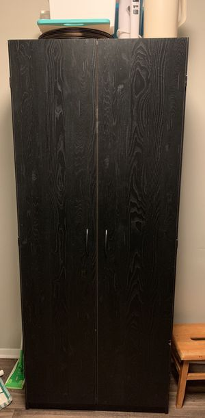 Black Kitchen Pantry for Sale in West Palm Beach, FL