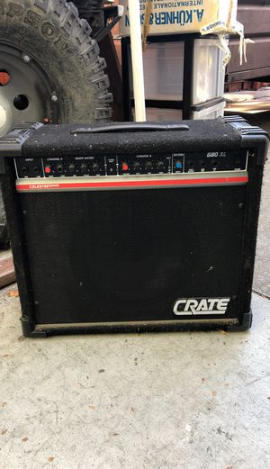 Crate G80XL guitar/bass amp for Sale in Pleasanton, CA