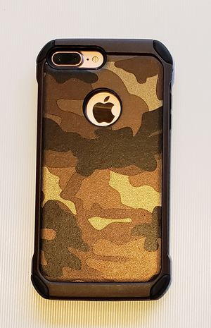 Camouflage case for iphone 6 plus or 7 plus (new) for Sale in Alexandria, VA
