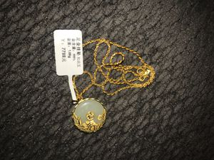 Gold chain and pendant for Sale in Sacramento, CA