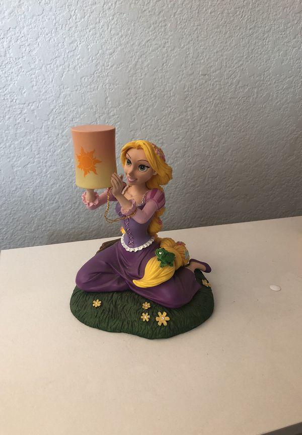 Disney Tangled Rapunzel & Pascal light up figurine used