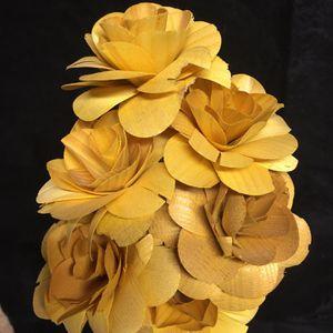 Wood Flowers. Vase. Parisian Scene. for Sale in Mission Viejo, CA