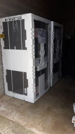 Ge refrigerator French door with ice maker for Sale in Alum Bridge,  WV