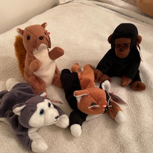 4 Beanie babies for Sale in Miami, FL