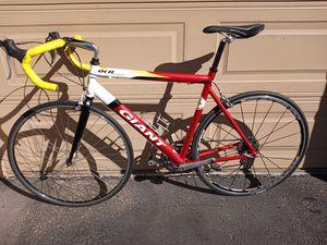 GIANT OCR two ultra lite road bike size L for Sale in Phoenix, AZ