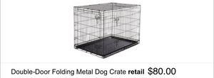Double door 48 in dog crate $45 BRAND NEW! for Sale in Lexington, KY