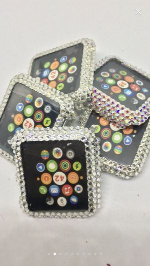 Apple Watch case rine stones just 1 left ! 42mm apple for Sale in Parlier, CA