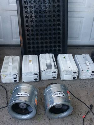 max fan ,xtra sun,ez clone for Sale in North Highlands, CA