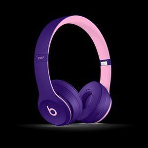 Beats solo 3 purple wireless headphones for Sale in Seattle, WA