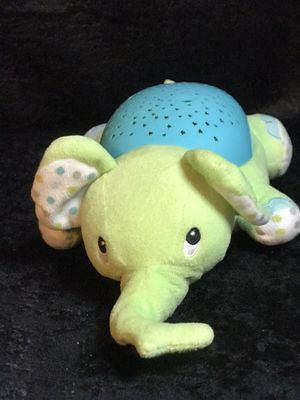 Summer lighted musical green elephant! for Sale in Savannah, GA