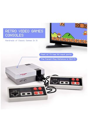 Classic Mini Game Console Childhood Game Consoles Built-in 620 Game(Some are Repeated) Dual Control 8-Bit Handheld Game Player Console for TV Video for Sale in Hallandale Beach, FL