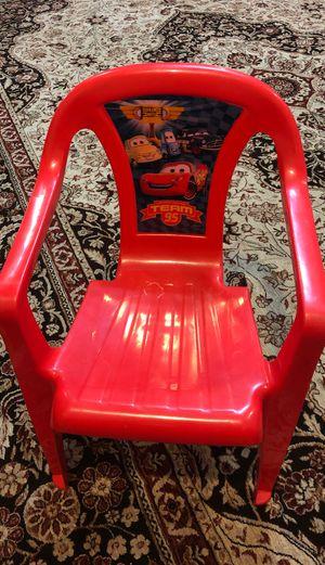 Lightning McQueen Kids Chair for Sale in Piscataway, NJ