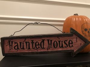 Halloween signs for Sale in Lathrop, CA