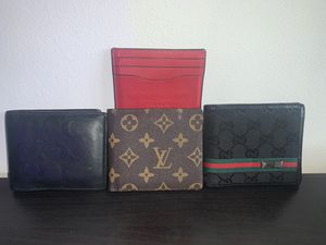 Louis Vuitton, Gucci, Coach Wallet for Sale in San Diego, CA