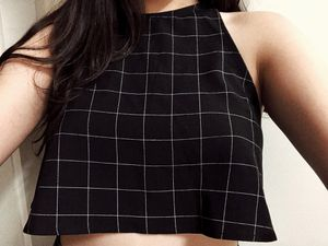 American Apparel cropped halter top for Sale in Nashville, TN