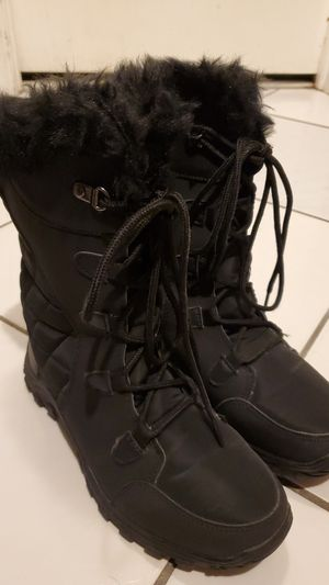 Polar Womens Lace up black snow boot for Sale in Miami, FL