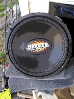"Kicker comp 15"" 8 ohm for Sale in Center, MO"