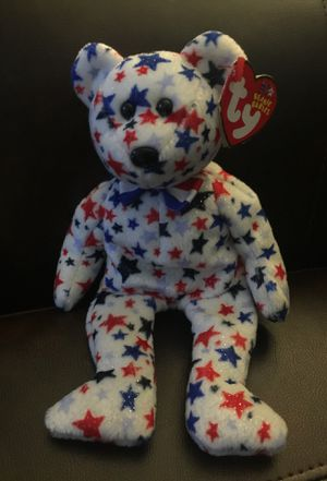 Red white and blue Beanie Baby for Sale in Salt Lake City, UT