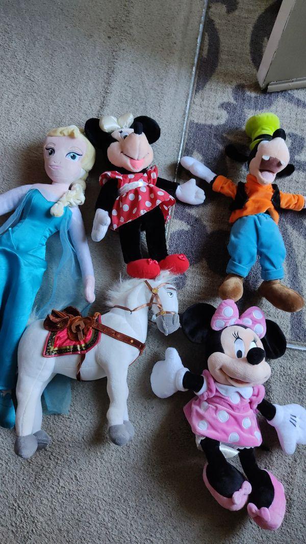 Disney plushies