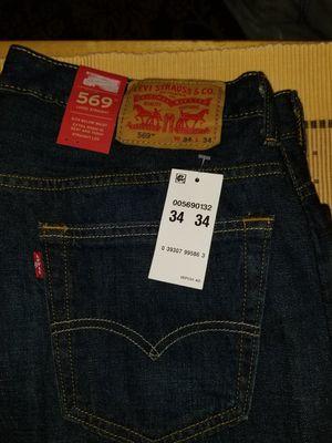 New men 569 Levi's jeans 34x34 for Sale in Alexandria, VA