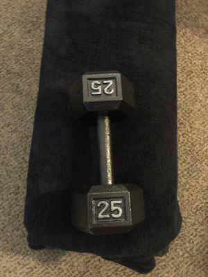 Single 25lbs Dumbbell for Sale in Stockton, CA