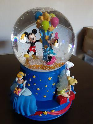 Disney's 100th Anniversary Hallmark Musical Snow Globe for Sale in Marlborough, MA