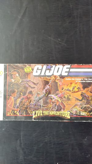 G.I. Joe Live The Adventure Board Game - New/Sealed! for Sale in Garden Grove, CA