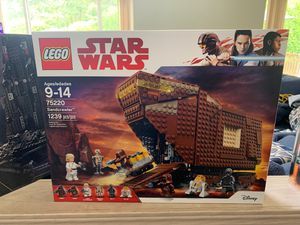 Star Wars Lego Sandcrawler (retired Product) hard to find 75220 for Sale in Puyallup, WA