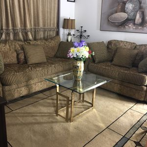 Two Set Couches With Coffee Table for Sale in Everett, WA