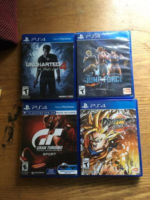 PS4 games for Sale in Greensboro, NC