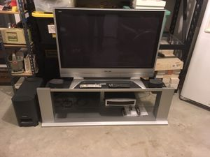 """42"""" Plasma TV and Stand for Sale in Vancouver, WA"""