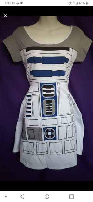 SIZE LARGE - New Disney Star Wars R2D2 Skater Dress for Sale in Gardena, CA