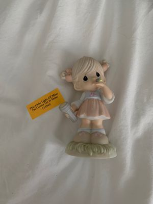 Precious Moments Porcelain Figurine: This Little Light of Mine for Sale in Tampa, FL