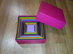 Colorful Nesting Gift Boxes for Sale in Butte, MT