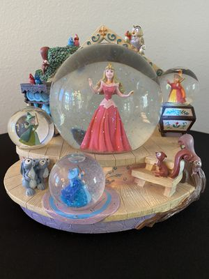 Disney Snow Globe Once Upon a Dream Sleeping Beauty for Sale in Trinity, FL