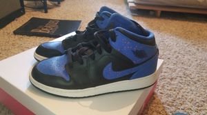 Air Jordan 1 midnight blue orange speckle for Sale in Temperance, MI