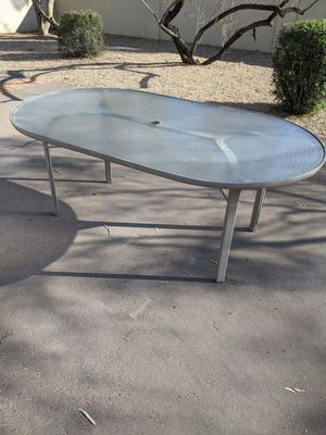 Tempered glass patio table for Sale in Scottsdale, AZ
