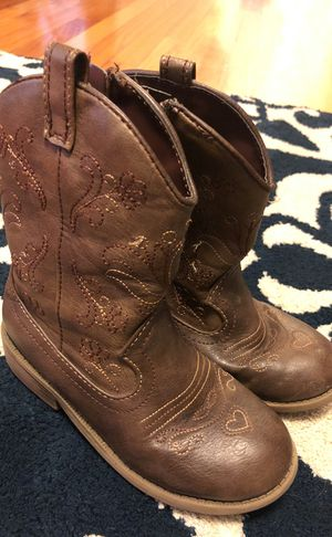 Cowgirl boots (girls size 11) for Sale in Fort Leonard Wood, MO