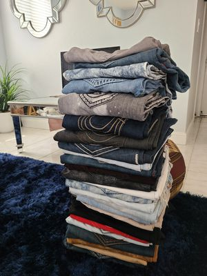 Black true religion jeans **30 Pair For sale!!! for Sale in Richmond, CA