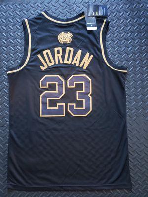 Jordan - UNC College Jersey Black Golden L and XL for Sale in Hoffman Estates, IL