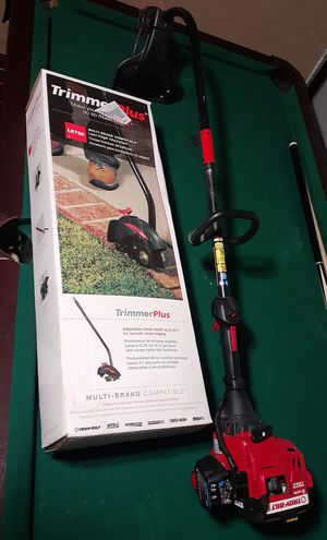 Troy-Bilt weed eater and attachment for Sale in Wichita, KS