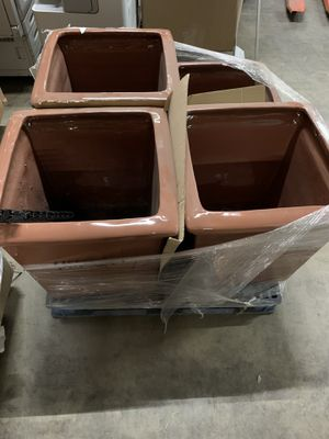 Ceramic Glossed Flower Pots for Sale in Chicago, IL