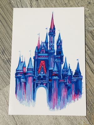 Disney Castle Sticker/Decal for Sale in Tustin, CA