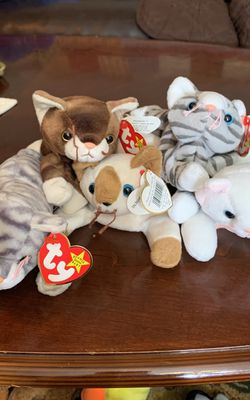 5 Beanie Baby Cats for Sale in Livermore,  CA