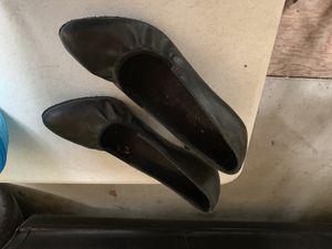 Dance shoes 9.5 black for Sale in Sudbury, MA