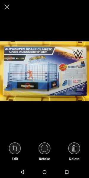 WWE authentic steel cage for Sale in Manteca, CA